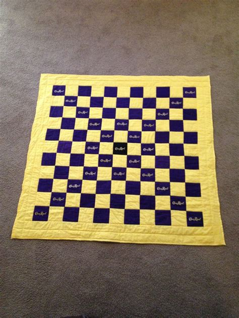 quilt pattern using crown royal bags crown royal bags quilt sewing pinterest quilt