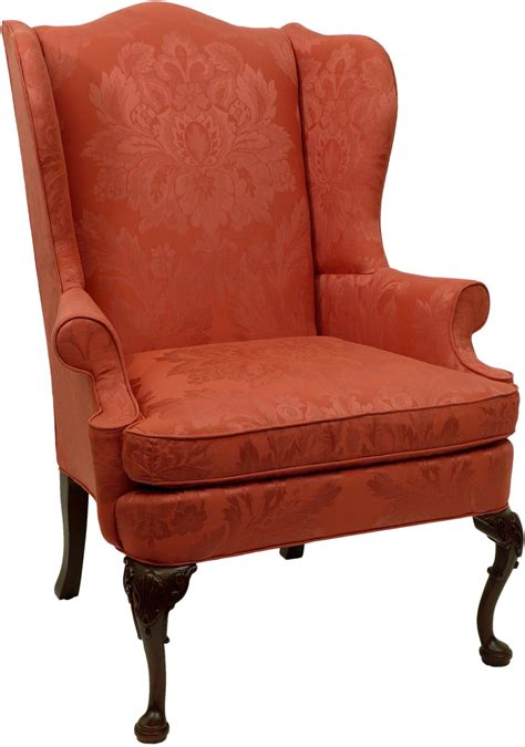 wingback armchair queen anne chairs queen anne wing chair