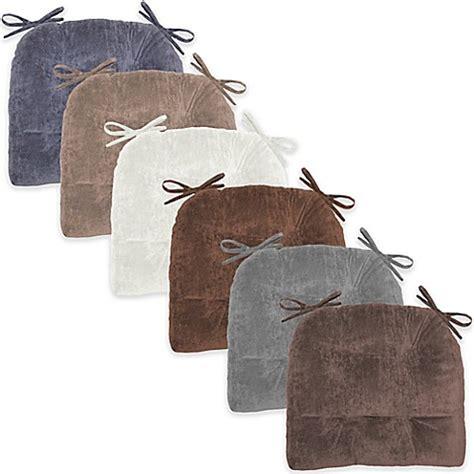 bed bath and beyond cheyenne cheyenne sanded textured plush waterfall chair pads set