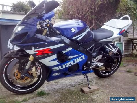2004 suzuki gsxr 600 k4 for sale in united kingdom