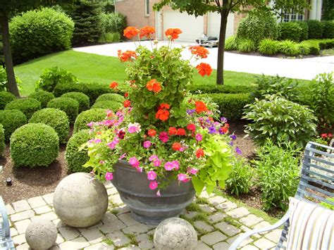 Planters Flowers Design by The Ultimate Patio Design Amid