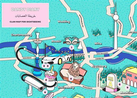 berlin clan map die touri karte fuer berlins unterwelt