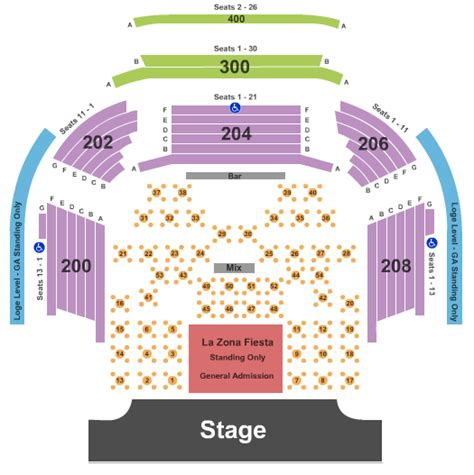 concert venues in las vegas nv concertfix