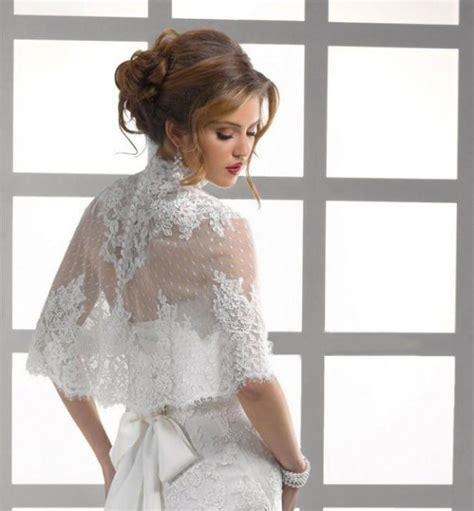 braut meaning high neck button back lace jacket bolero coat bridal