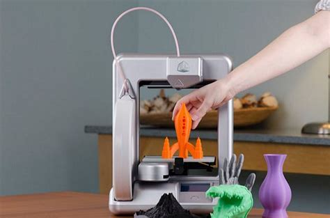 cubify cube a 3d printer that looks like a home appliance