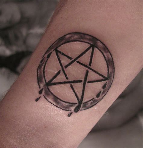 pentagon tattoo pentagram tattoos designs ideas and meaning tattoos for you