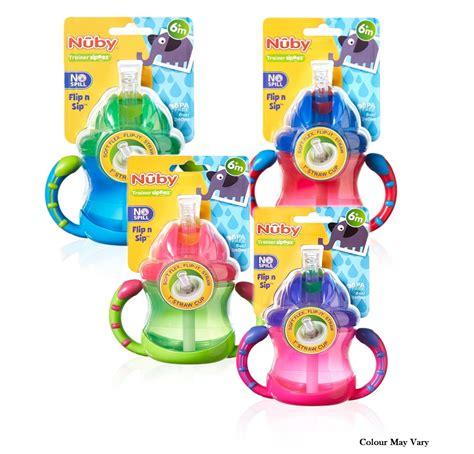 Nuby 7oz Handle Flip It Straw Cup nuby baby flip n sip two easy grip handle silicone straw