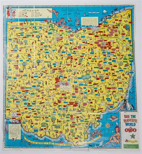 kent cus map 1988 ohio department of highways map 1966