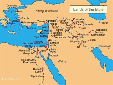 simple map  holy land learning gods story pinterest