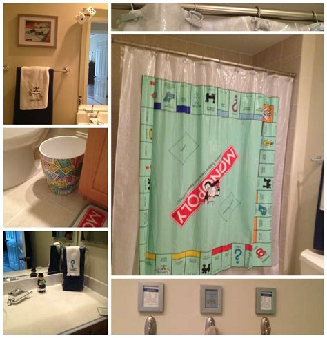 monopoly shower curtain 173 best monopoly images on pinterest diy cards and