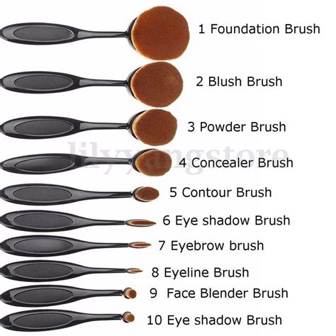 Promo Oval Foundation Brush Make Up Brush Keren 1000 ideas about makeup on products