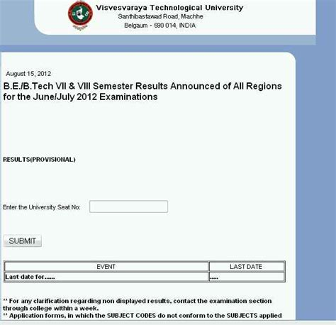 Vtu Mba Revaluation Results by Vtu Revaluation Results Ac 2018 2019 Studychacha