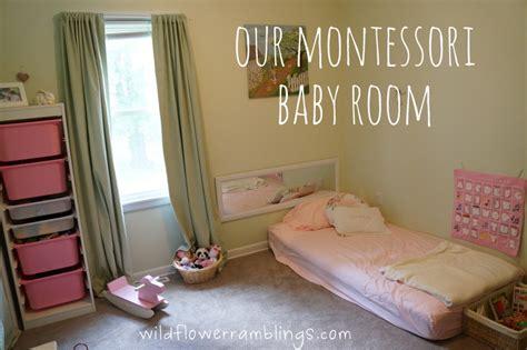 Our Montessori Baby Room Peter Rabbit Nursery Wildflower Ramblings