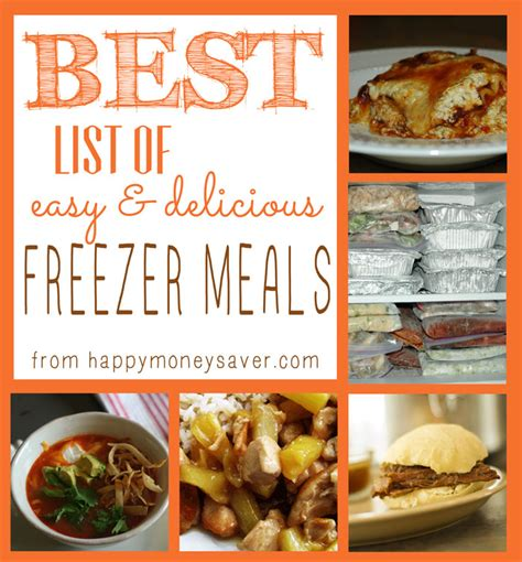 make ahead freezer meals for a month