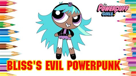 coloring pages bliss youtube powerpuff girls coloring book pages bliss s evil