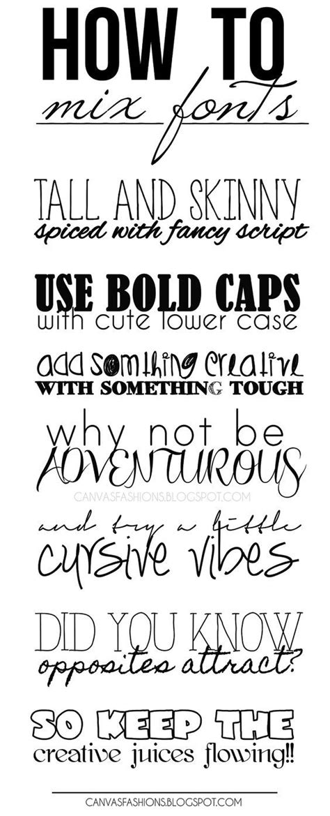 Creative Handwriting Styles