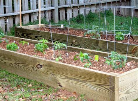 Garden Planter Box by Deck Garden Planter Plans Home Landscaping