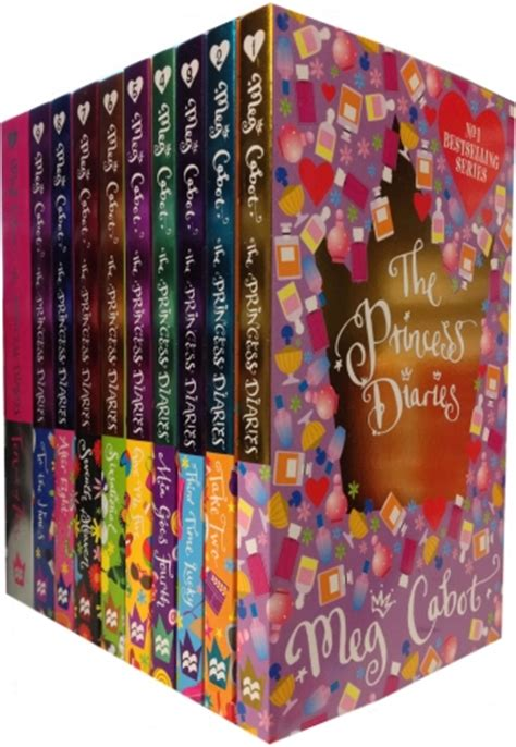 Novel Princess The Princess Diaries Collection the princess diaries collection 10 books set meg cabot gift pack 9780330517393 buy books