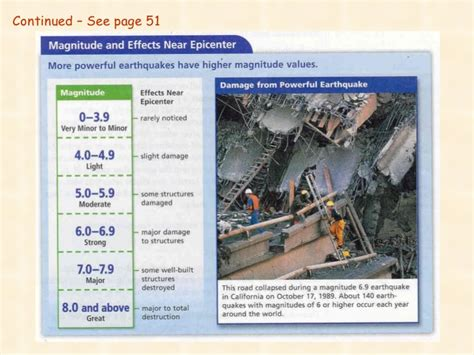 section 8 2 measuring earthquakes chapter 2 earthquakes