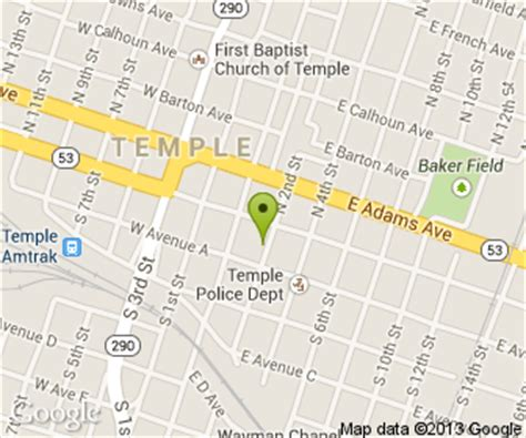 map temple texas green door on second in temple tx 12 south 2nd foodio54