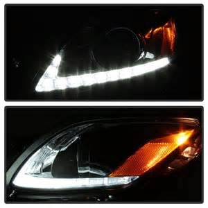 06 11 lexus gs300 gs350 gs430 hid model led drl