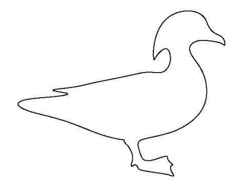 printable duck stencils ducks woods and scrapbooking on pinterest