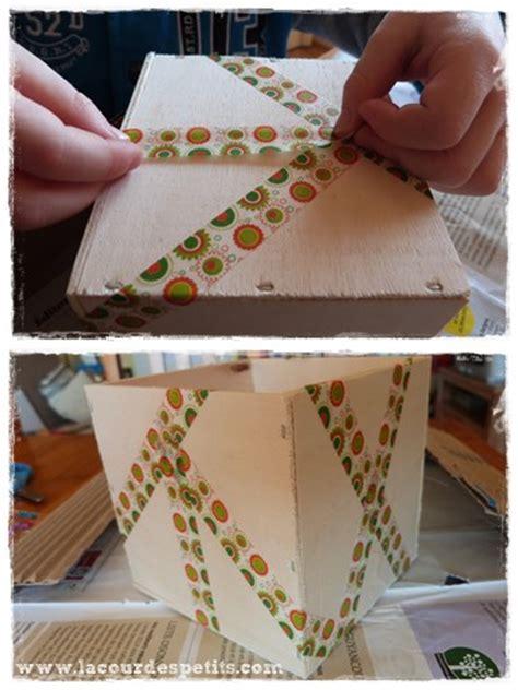 Decoration Boite Bois by Comment Decorer Boite En Bois