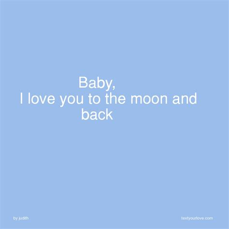 I You To The Moon And Back Baby Shower baby i you to the moon and back text message by judith