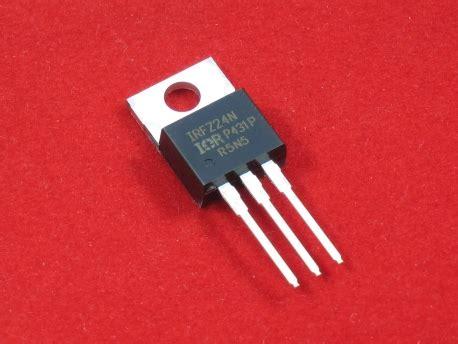 Transistor Irfz24n irfz24n mosfet radiomart org