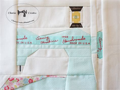 pattern paper in sewing charise creates vintage sewing machine and notions paper