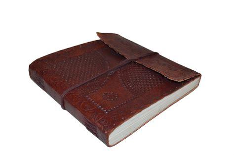 Handmade Leather Notebooks - handmade leather journal diary notebook sketchbook
