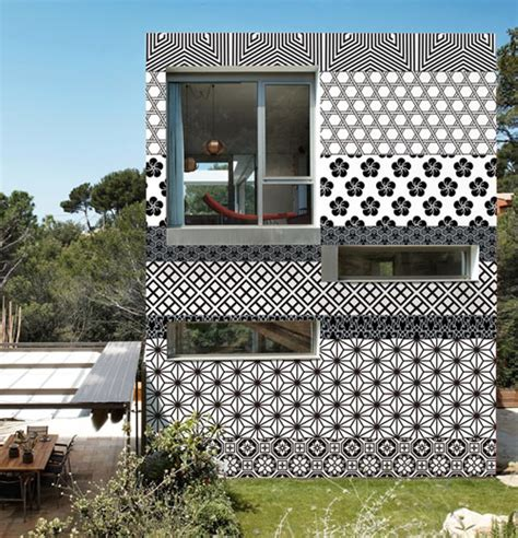 Outside Wall Designs | wall dec 242 outdoor wallpaper design milk