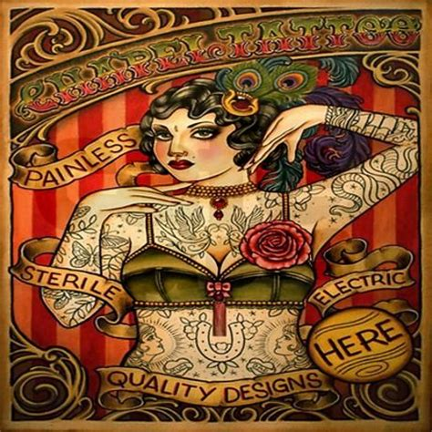 tattoo queen shower curtain 91 best images about vintage tattooed people on pinterest
