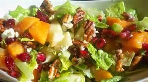 apple persimmon salad recipe on food52