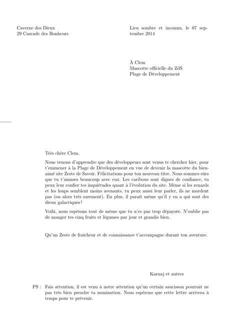 modele lettre 2 destinataires