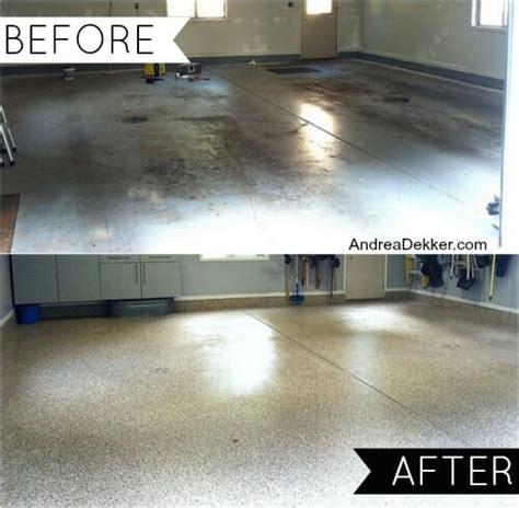 our new epoxy garage floor q a andrea dekker