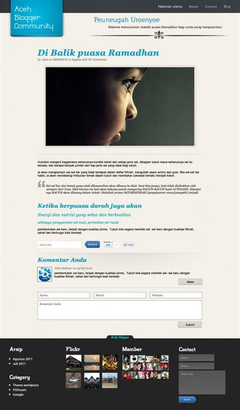 Tutorial Desain Halaman Web | download template desain website dengan photoshop