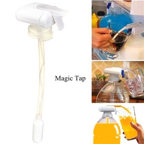Magic Tap Automatic Electric Drink Pumping Device Pompa Minuman magic tap automatic electric drink pumping device pompa minuman white jakartanotebook