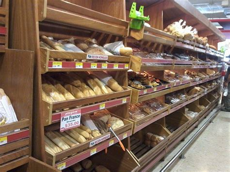 Frozen Bread Shelf by Food Shopping Supermarket Playero Sosua