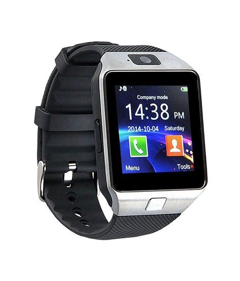 Smartwatch G7 Gsm Sim Silicone Silver bingo t30 silver bluetooth smartwatch with memory slot