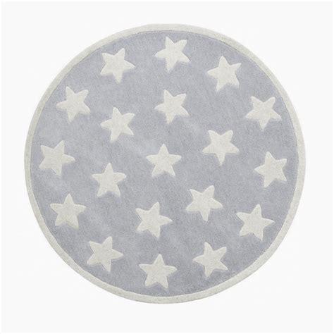 teppich kinderzimmer oval teppich rund grau sterne wei 223 gr 120 cm kinderzimmer