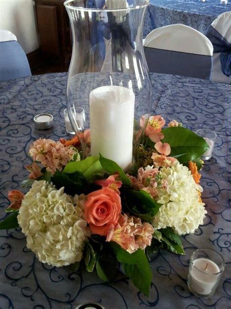 hurricane centerpiece hurricane centerpiece 2014 chadwick wedding