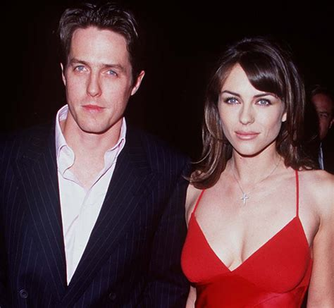 Why Ex Hugh Grant Didnt Show For Lizs Wedding by Hugh Grant Says Elizabeth Hurley Is His Absolute Best Friend