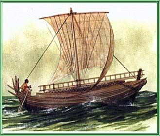 ancient boats ancient ships in art history merchant vessels and
