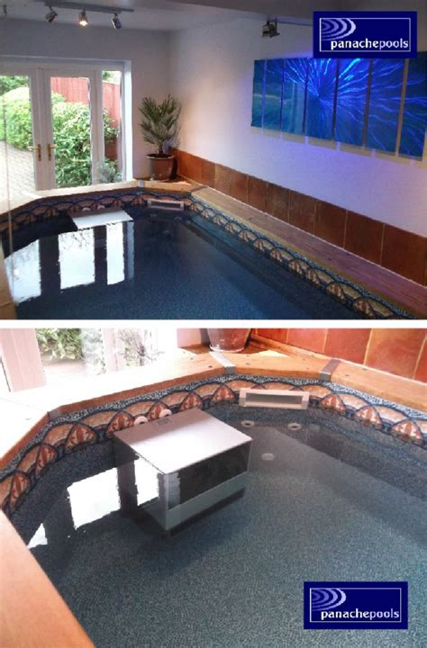 Garage Swimming Pool by An Endless Exercise Pool In Your Garage Panache Pools