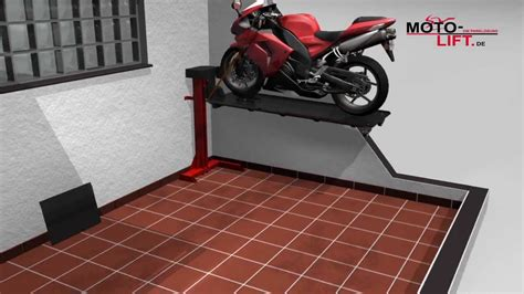 How To Build A Garage Workshop by Www Moto Lift De Motorcycle Lift Bikelift