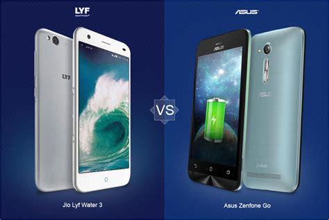 Water Gliter Asus Zenfone 3maxzc553kl jio lyf water 3 vs asus zenfone go lte versus by compareraja