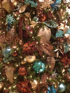 christmas tree decorations gold brown 1000 images about turquoise and gold decor on diy turquoise