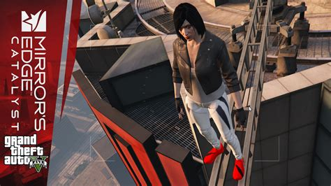 Hoodie Biru Dongker Mirror Edge Catalyst mirrors edge catalyst clothing ksec gta5 mods