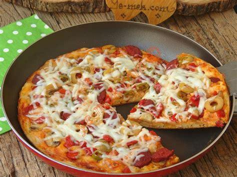 Teflon Pizza teflon tavada pizza tarifleri